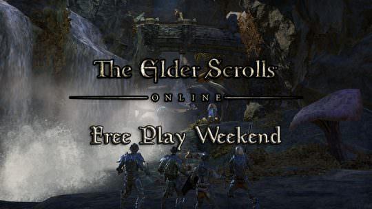 Elder Scrolls Online Free Play Weekend Starts Tomorrow On All Platforms