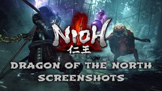 Nioh Releases Official Screenshots for the Dragon of the North DLC: New NPCs, Locations, Skins & More!