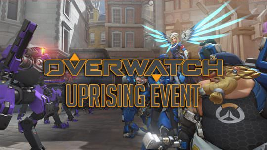 Overwatch Reveals New Uprising Event