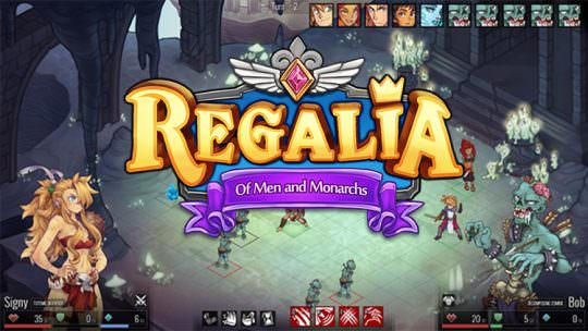 Regalia: Of Men and Monarchs Preview: JRPG Goes West