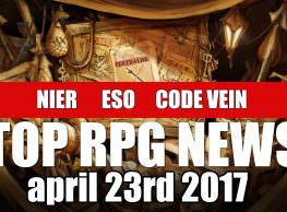 The Week in Wikis: Top RPG News of the Week on Nier, Elder Scrolls Online, Code Vein & More!
