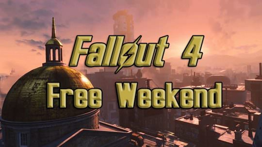 Fallout 4 Free Weekend Starts Tomorrow On Xbox One and PC