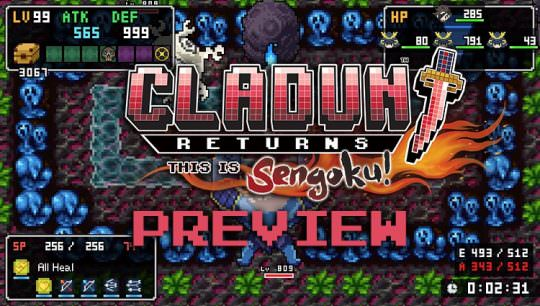 Cladun Returns: This is Sengoku! Preview: Old School Dungeon Love