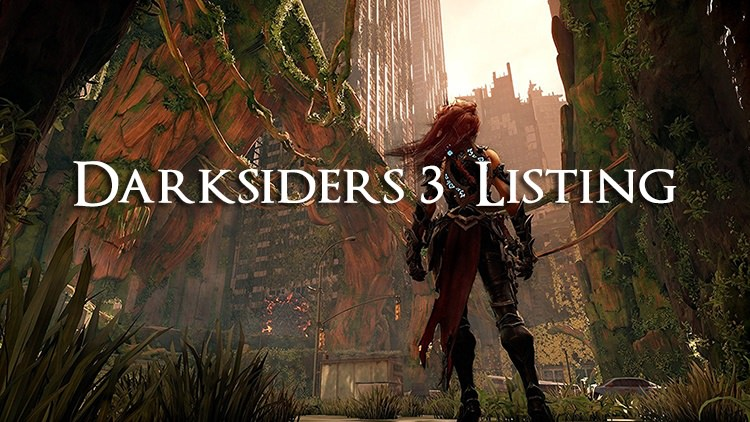 Darksiders 3 Listing Shows UpOn Amazon