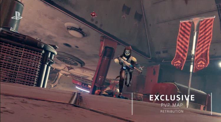 Destiny 2 PS4 Exclusive Strike, PvP Map, Exotic Weapon, Ship,