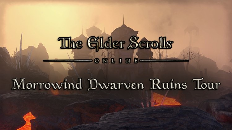 The Elder Scrolls Online New Video Gives Players a Look at the Dwarven Ruins in Morrowind