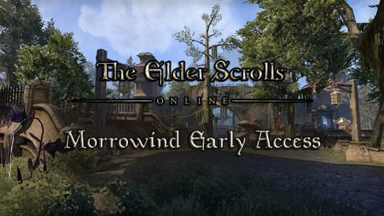 The Elder Scrolls Online: Morrowind PC Early Access Begins Today, New Update Released