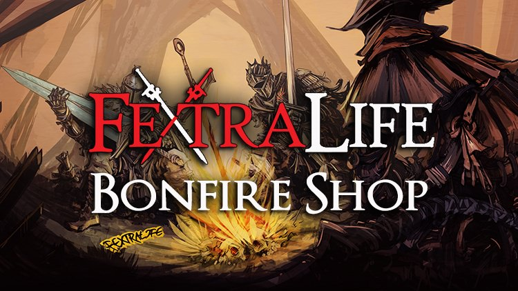 FextraLife Bonfire Online Shop: Show Your Support With T-Shirts, Mugs, Phone Cases & More