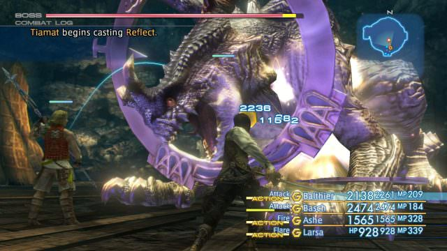 Final Fantasy XII: The Zodiac Age Review Combat