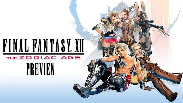 Final Fantasy XII The Zodiac Age Preview: Second Chance at a First Impression
