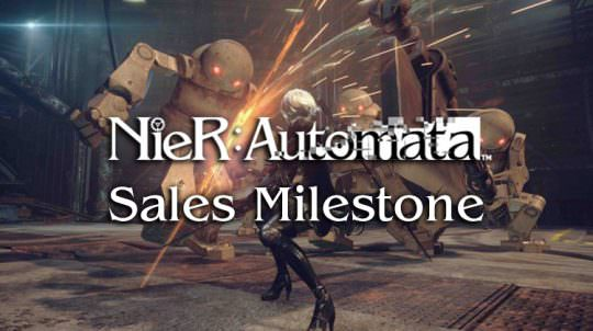 Nier: Automata Reaches New Milestone of 1.5 Million Copies Shipped