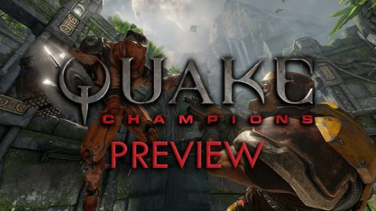Quake Champions Closed Beta Hands On Preview: Frantic Multiplayer Deathfest
