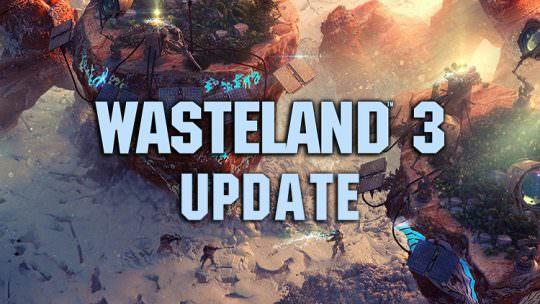 Wasteland 3 Development Update: Combat, Locations, Design & More