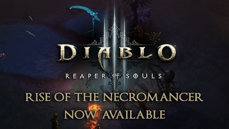 Diablo 3 Rise of the Necromancer & Patch 2.6.0 Out Today for PS4, Xbox One & PC