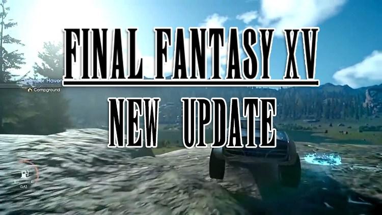 Final Fantasy XV Update 1.12 Live, Adds Off-Road Regalia Driving