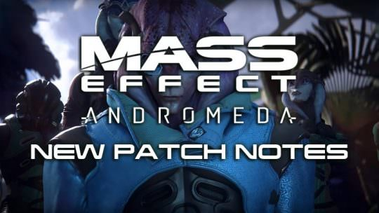 Mass Effect Andromeda Patch Improves Character Creator, Romance Options & More
