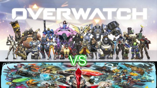 Which Hero game to choose: Overwatch, Paladins, Battleborn or Smite?