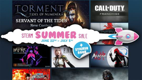 Steam Summer Sale Has Begun: Discounts on Torment, Tyranny, Final Fantasy, The Surge & Others Through July 5th