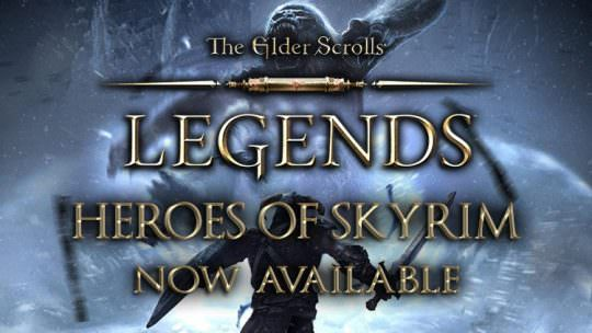 The Elder Scrolls Legends Heroes of Skyrim Expansion Released on PC