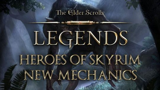 The Elder Scrolls Legends: Heroes of Skyrim Expansion New Features Look: Dragons, Shouts & Beast Form