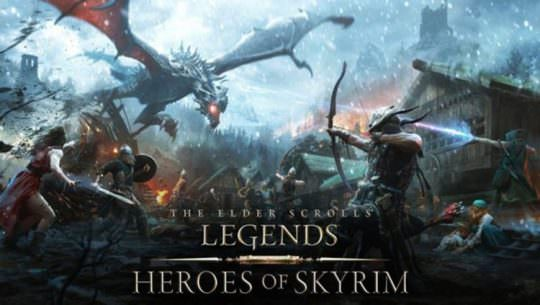 The Elder Scrolls Legends Heroes of Skyrim Expansion Revealed, Game Coming to iPhone & Android Phones