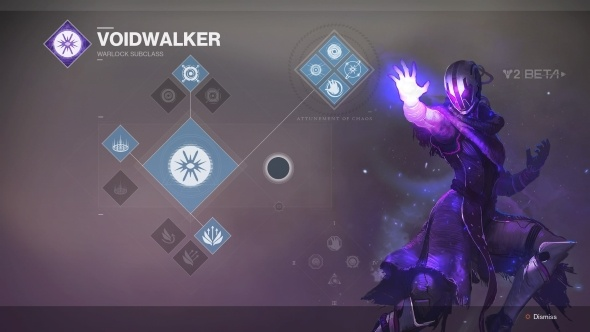 Destiny 2 Warlock Class Voidwalker