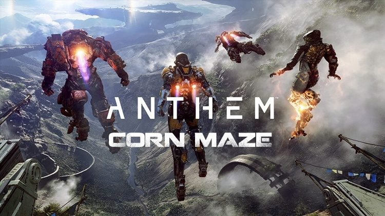Anthem Official Corn Maze Revealed By BioWare