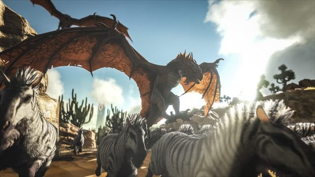 Ark Survival Evolved Coming To Ps4 Xbox One Amp Pc Lets