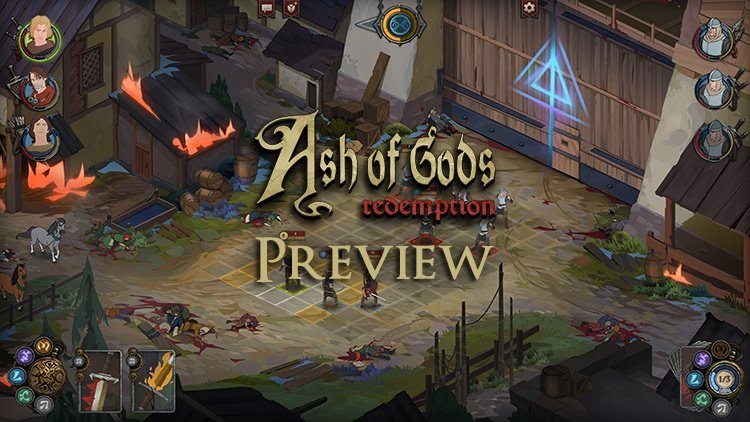 Ash of Gods First Look: Banner Saga Goes Roguelike
