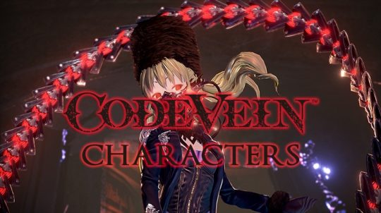 Code Vein Introduces Two Key Characters