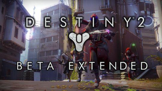 Destiny 2 Beta Extended For 2 More Days