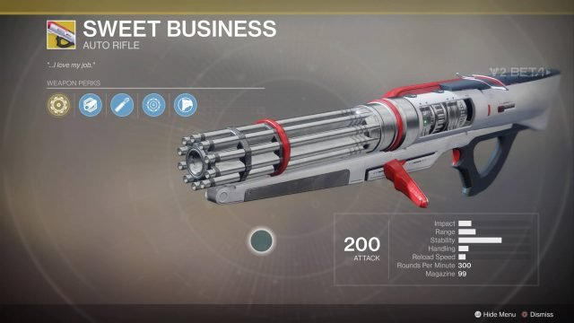 Destiny 2 Beta: Exotic and Legendary Weapons & Armor and ...  Legendary