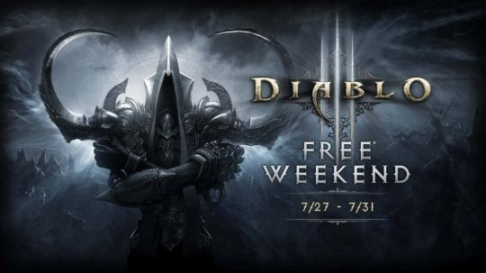 Diablo 3 Free To Play This Weekend on Xbox One