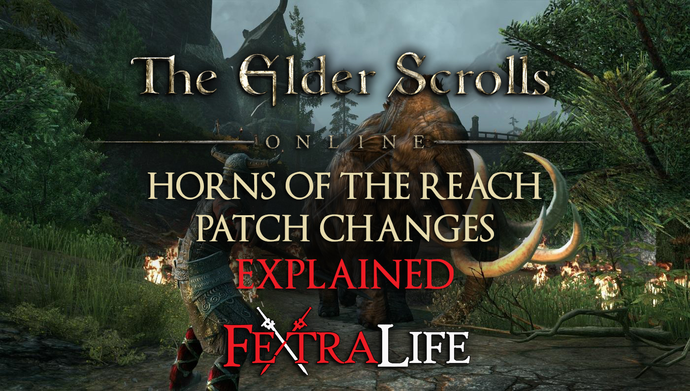 Elder Scrolls Online: Horns of the Reach DLC Changes ... Horns Of The Reach
