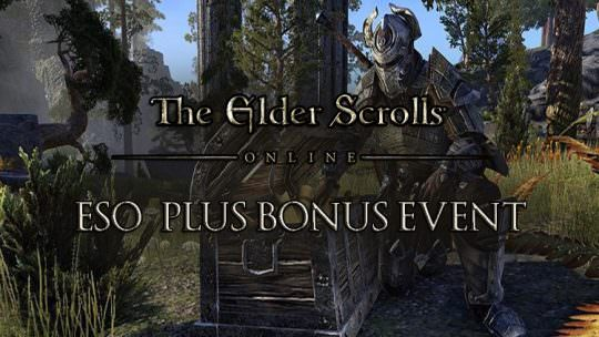 Elder Scrolls Online Announces ESO Plus Bonus Event & ESO Plus Free Trial