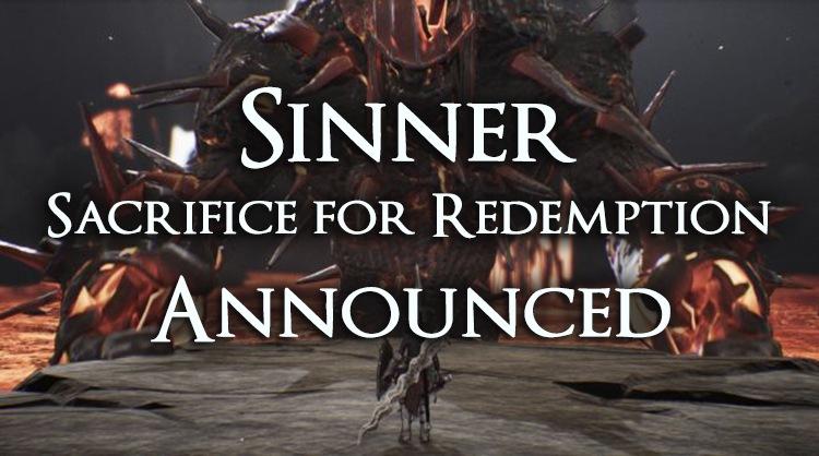 Sinner: Sacrifice for Redemption Announced – A Dark Souls Inspired Boss Rush Game