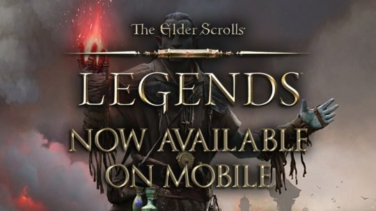 The Elder Scrolls Legends Now Live on Android and Apple Mobile