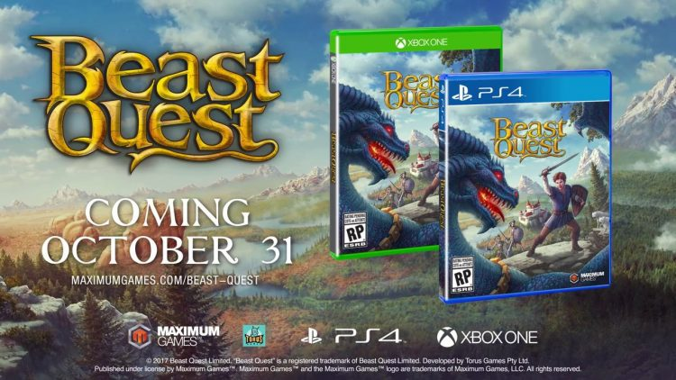 Beast Quest, Action Adventure for PS4, Xbox One and PC announced!