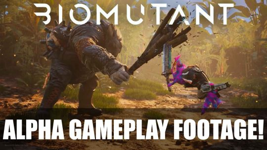 11 Minute Gameplay of BioMutant from Gamescom 2017!