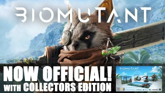 "Leaked IP: ""BioMutant"" Officially Announced with Collectors Edition and Trailer!"