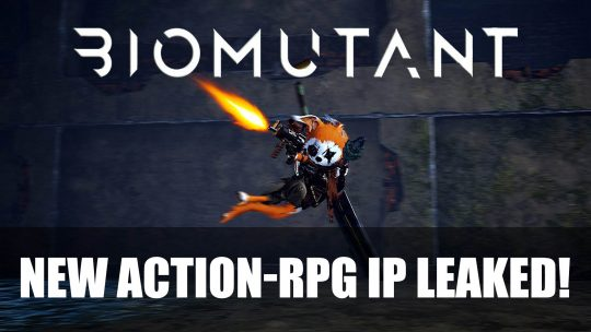 "Leaked Screenshots & More on New IP: ""BioMutant""! Ahead of Gamescom 2017!"