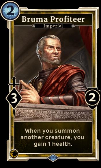 Elder Scrolls Legends Decks Bruma Profiteer
