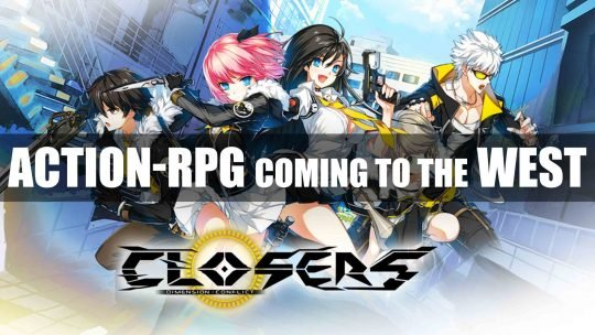 "Online Action-RPG ""CLOSERS"" Announced for the West!"