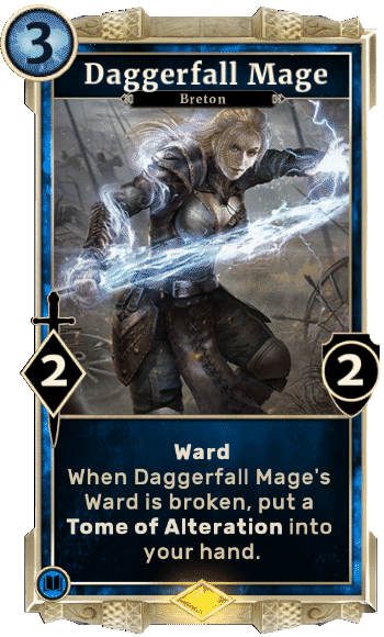 Elder Scrolls Legends Decks Daggerfall Mage