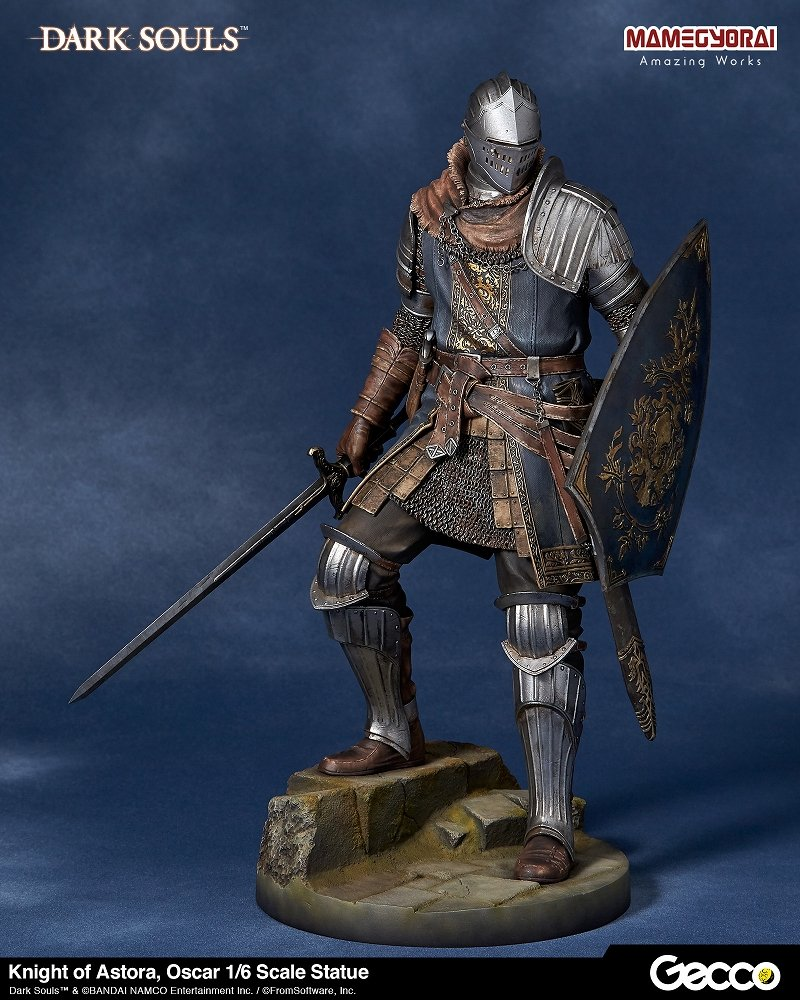 New Dark Souls Statuette Oscar Knight Astora Gecco on oscar statuette