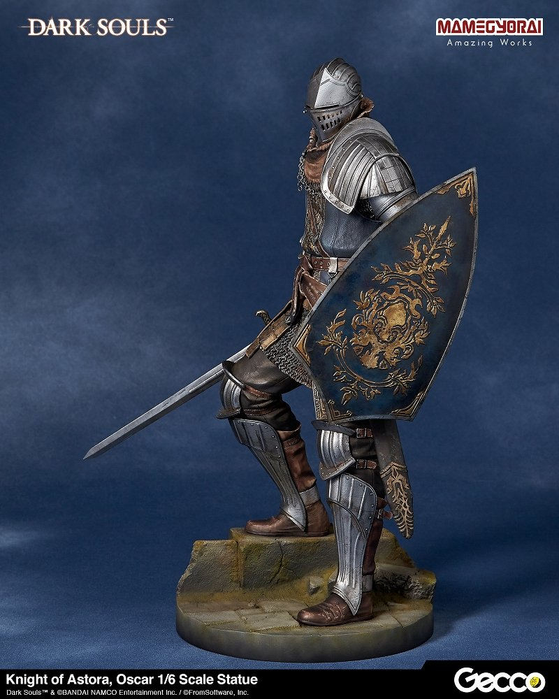 Knight Of Wands As Advice: New Dark Souls Statuette Of 'Oscar, Knight Of Astora' From