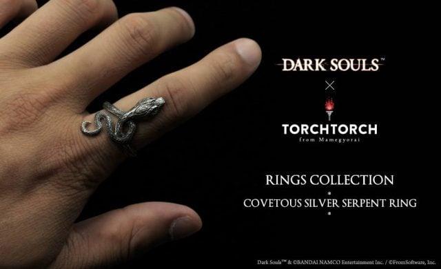 dark souls merch silver serpent