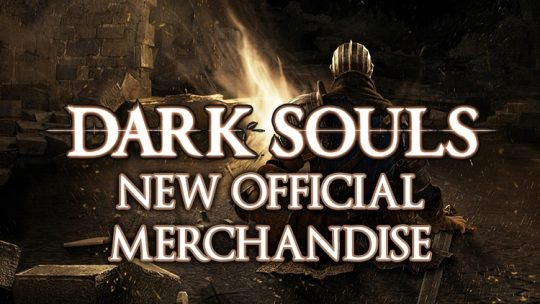 Dark Souls Reveals Classy New Official Accessories & Merchandise