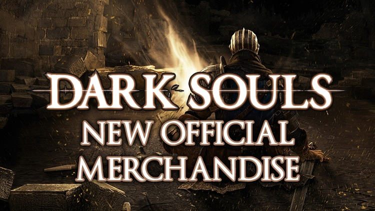 Dark Souls Reveals Classy New Official Accessories & Merchandise