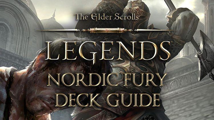 Elder Scrolls Legends Decks: Crusader (Nordic Fury)
